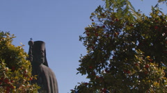 Monument, statue. Cyprus. Stock Footage