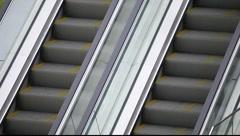 Escalator in Shanghai Stock Footage