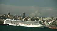 Stock Video Footage of Cruise Ship