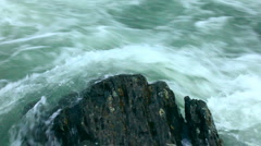 Streaming water. Stock Footage