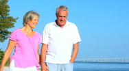 Portrait of Healthy Retired Couple Stock Footage