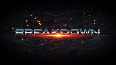Breakdown v2 Intro - stock after effects