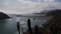 Pacific Bay in Chile Tropocalma - stock footage