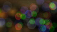 Blurred Colorful Particles Stock Footage