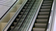 Stock Video Footage of Escalator motion