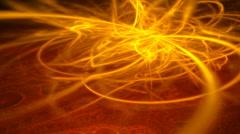 orange fiery motion background d2912E - stock footage