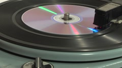 Stock Video Footage of personal compact disc player