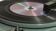 Personal compact disc player Stock Footage
