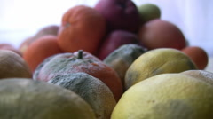 Rotten Fruit Stock Footage