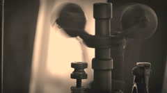 29-ton stationary steam engine 13 - stock footage