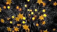 Zuckerstange +kugel+stern4 manystar+ 1 Stock Footage