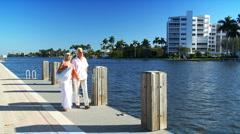 Retired Couple Enjoying Leisure Time Stock Footage