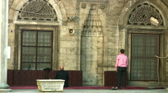 Muslim Man  Praying Stock Footage