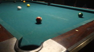 Stock Video Footage of Pool Table In Crowded Bar 04