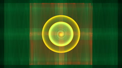 Yellow circle Stock Footage