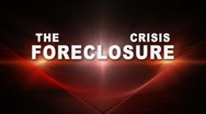 The Foreclosure Crisis Stock Footage