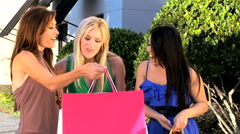 Female Retail Therapy - stock footage