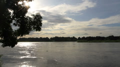 The South Sundan Nile River Stock Footage