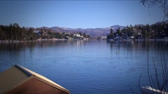Lake Arrowhead-18 Stock Footage