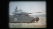 Stock Video Footage of military archival, Centurion main battle tank on the move again, 1950s