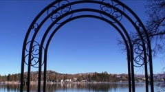LakeArrowhead arch-30 Stock Footage