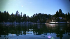 Lake Arrowhead-39 Stock Footage