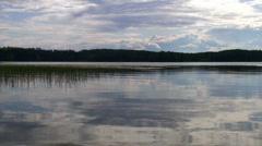 Lake view Stock Footage