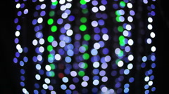 Discoball abstract lights bokeh party disco glitterball music  Stock Footage