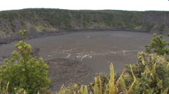 Hawaii Kilauea Iki Crater 7  Stock Footage