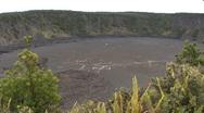 Hawaii Kilauea Iki Crater 7  Stock Footage