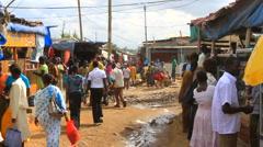 Robust African Market, Sudan Stock Footage