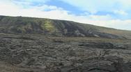 Hawaii Lava flows on Kilauea  Stock Footage