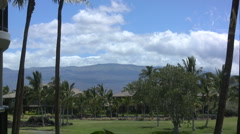 Hawaii Mauna Kea view Stock Footage