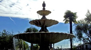 Naples Island Fountain 1 Stock Footage
