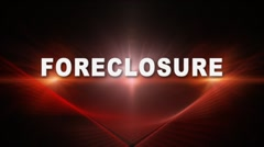 FORECLOSURE Title Transition 2 Stock Footage