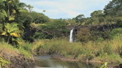 Hawaii Wai'ale Falls  Stock Footage