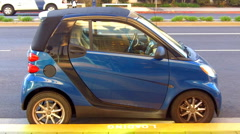 Smart Car 1 Stock Footage