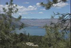 Lake Chelan WA  Stock Footage