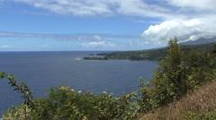 Maui Coastal view on the Hana road  Stock Footage