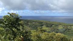 A coastal view on Maui Stock Footage