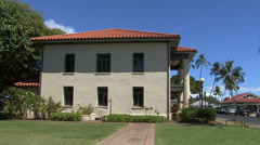 Maui The old courthouse in Lahaina  Stock Footage