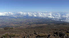 Maui View from Haleakala 7 Stock Footage