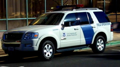 U.S. Customs and Border Protection Vehicle 3 Stock Footage
