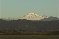 Mt Baker in the Cascade Range Stock Footage