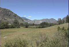 Okanogan landscape Stock Footage