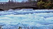 Water stream. River Stock Footage