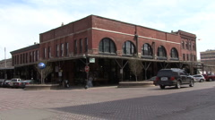 Omaha Old Market Historic District 6 Stock Footage