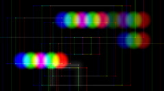Stock Video Footage of rgb shift glitch25