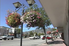 Osoyoos town in BC Stock Footage