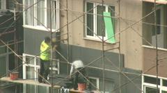 Heat insulation Stock Footage